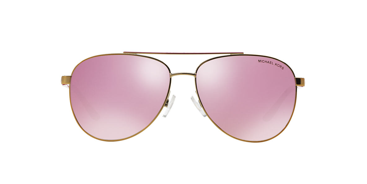 MICHAEL KORS Rose Gold MK5007 59 HVAR Pink lenses 59mm