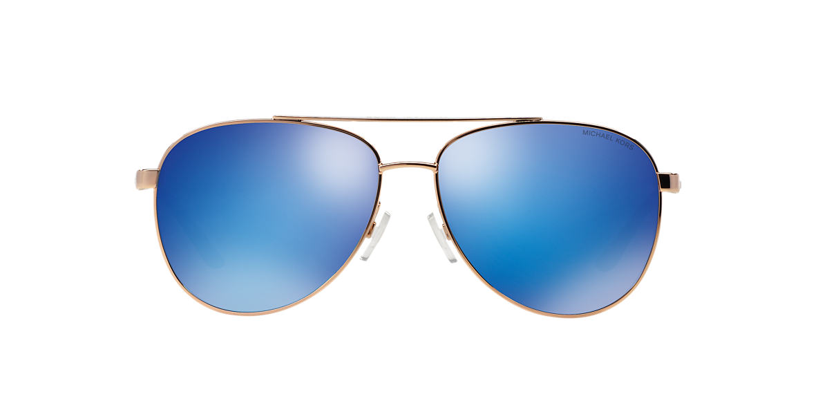 MICHAEL KORS Gold MK5007 59 HVAR Blue lenses 59mm