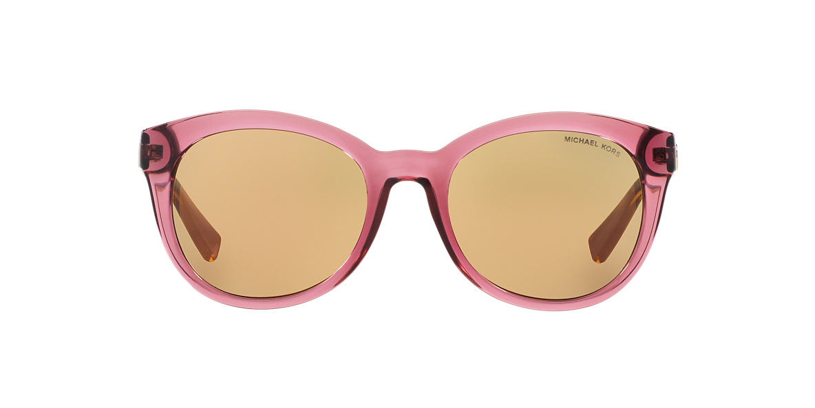 MICHAEL KORS Pink MK6019 53 CHAMPAGNE BEACH Gold lenses 53mm