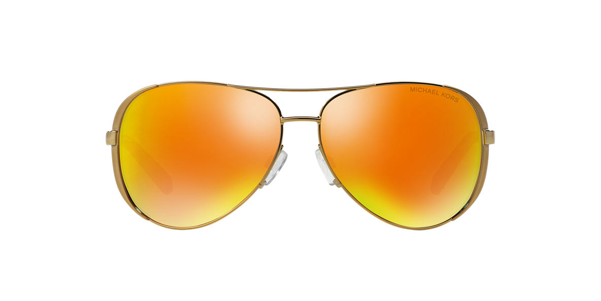 MICHAEL KORS Gold MK5004 59 CHELSEA Orange lenses 59mm