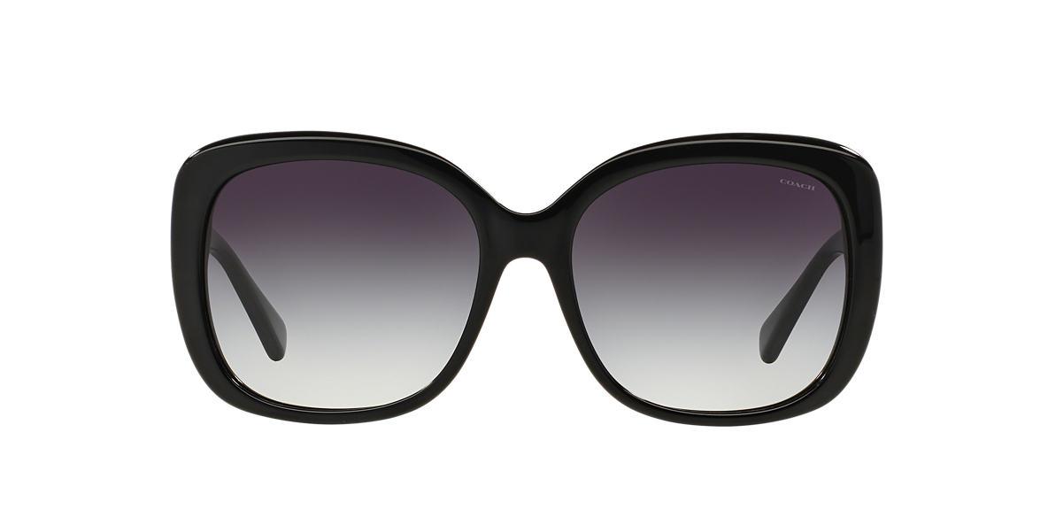 COACH Black HC8158 58 L139 Grey lenses 58mm