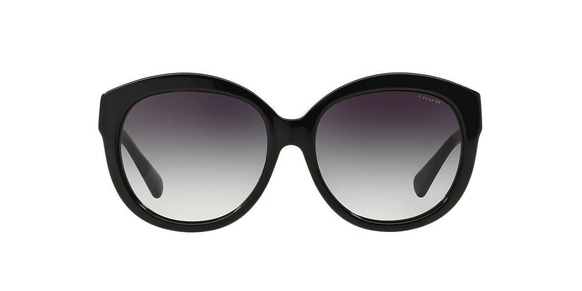 COACH Black HC8159F Grey lenses 55mm