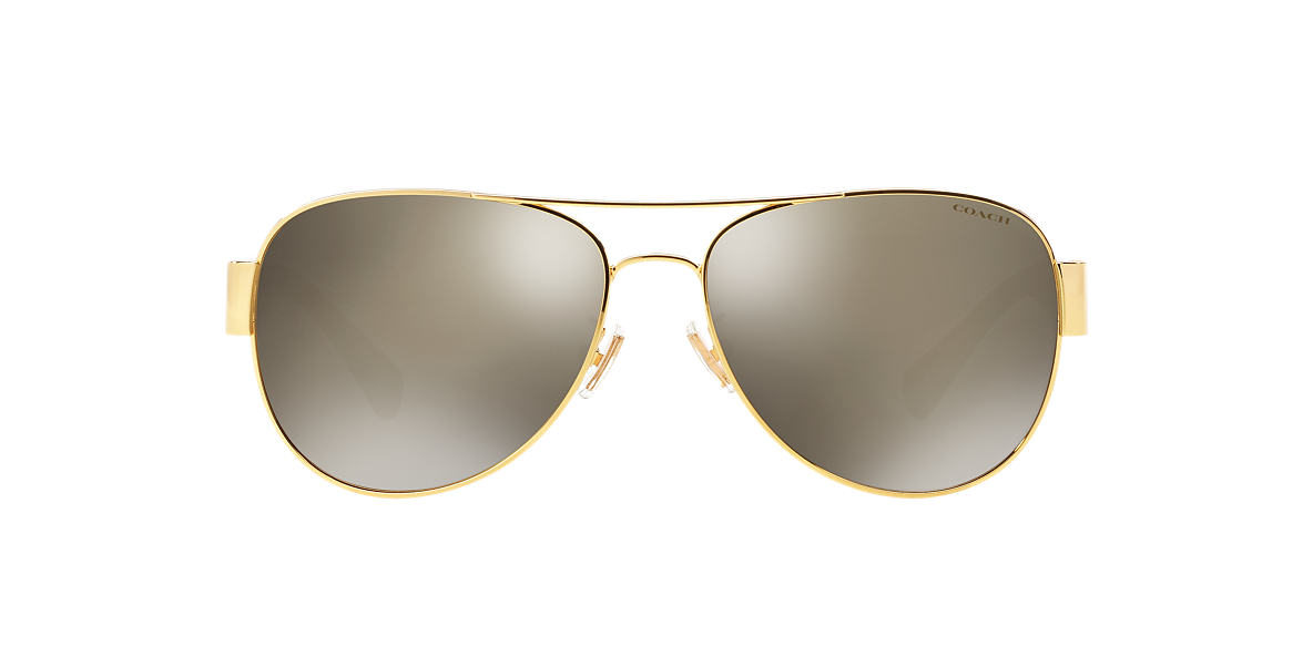 COACH Gold HC7059 58 L138 Gold lenses 58mm