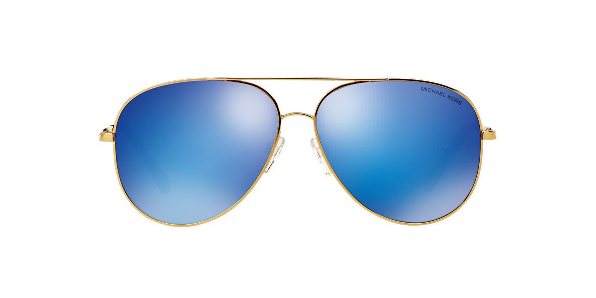 MICHAEL KORS Gold MK5016 Blue lenses 60mm