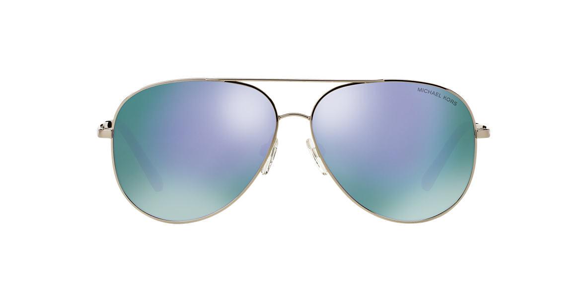 MICHAEL KORS Silver MK5016 Purple lenses 60mm