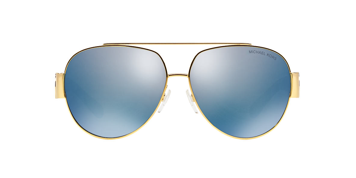 MICHAEL KORS Gold Shiny MK5012 59 TABITHA II Blue polarized lenses 59mm