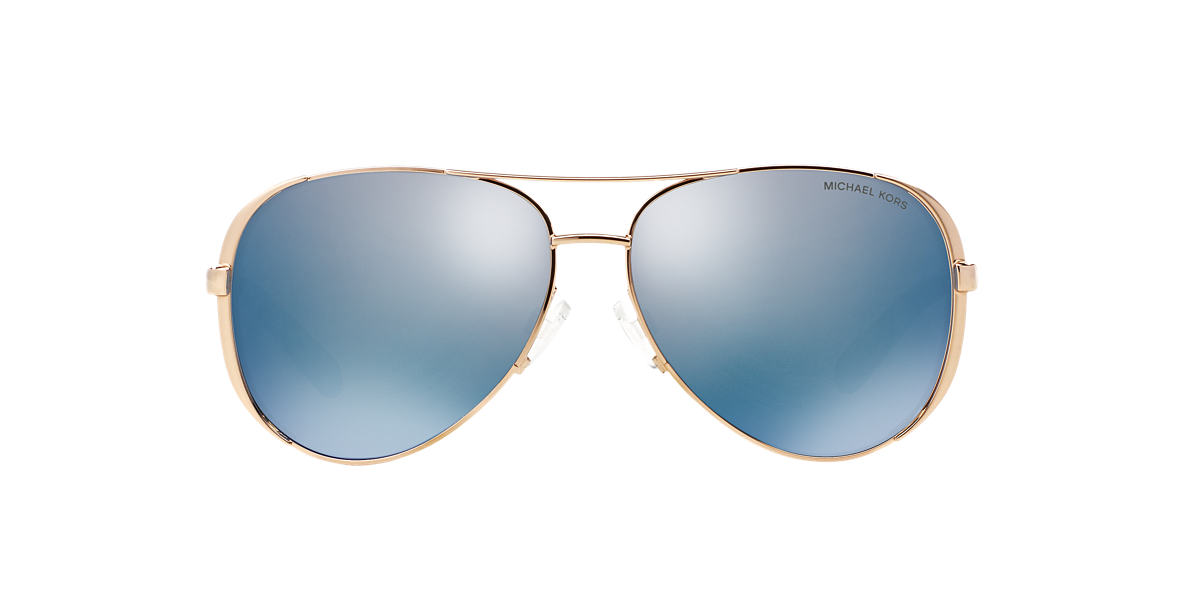 MICHAEL KORS Rose Gold MK5004 59 CHELSEA Blue polarized lenses 59mm