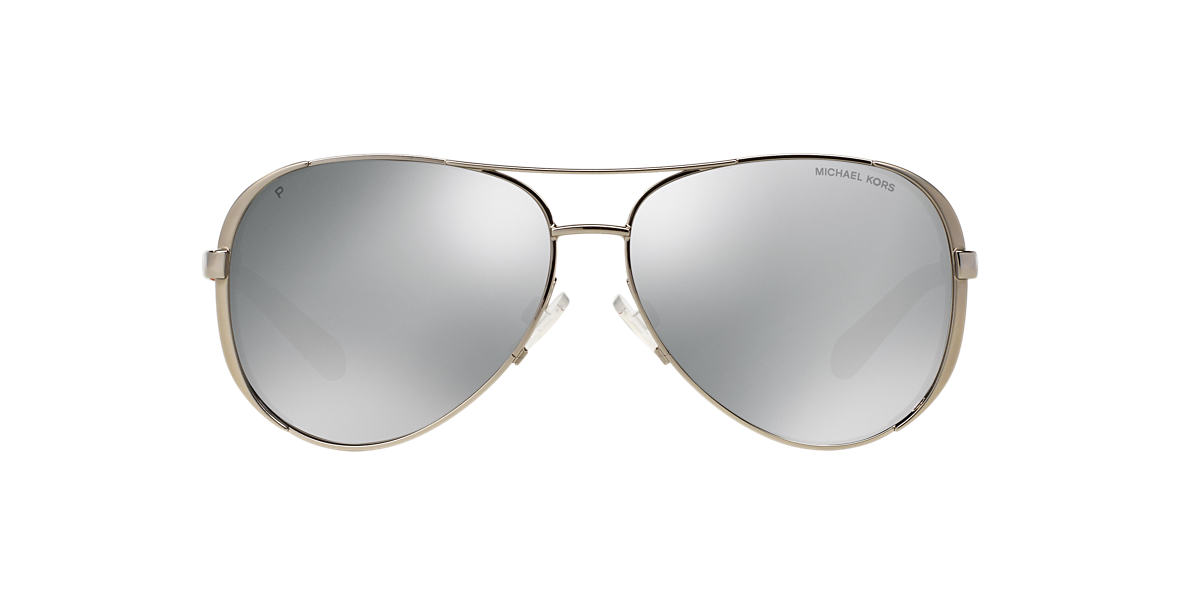 MICHAEL KORS Silver MK5004 59 CHELSEA Silver polarized lenses 59mm