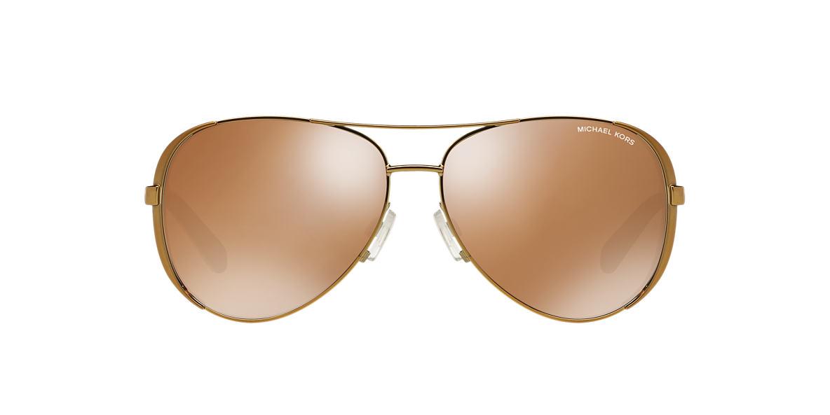 MICHAEL KORS Gold MK5004 59 CHELSEA Gold polarized lenses 59mm
