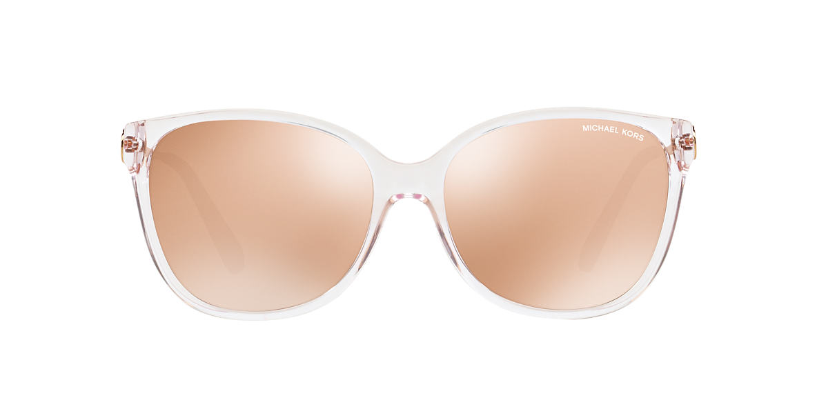 MICHAEL KORS Clear/White MK6006 Pink lenses 57mm