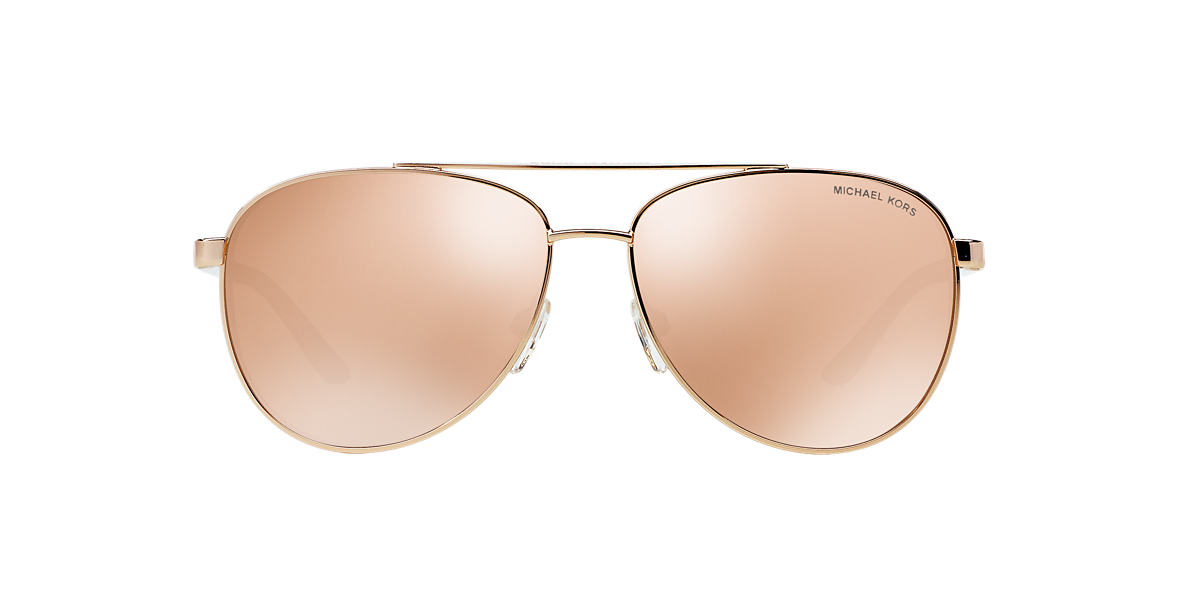 MICHAEL KORS Rose Gold MK5007 59 HVAR Gold lenses 59mm