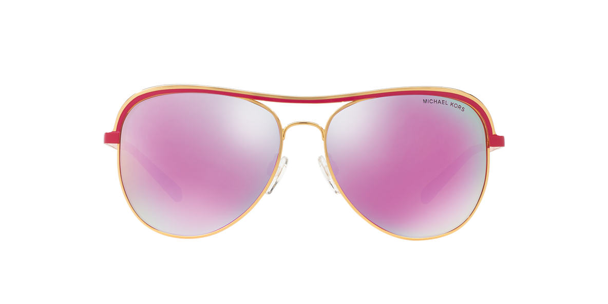 MICHAEL KORS Gold MK1012 58 VIVIANNA I Pink lenses 58mm