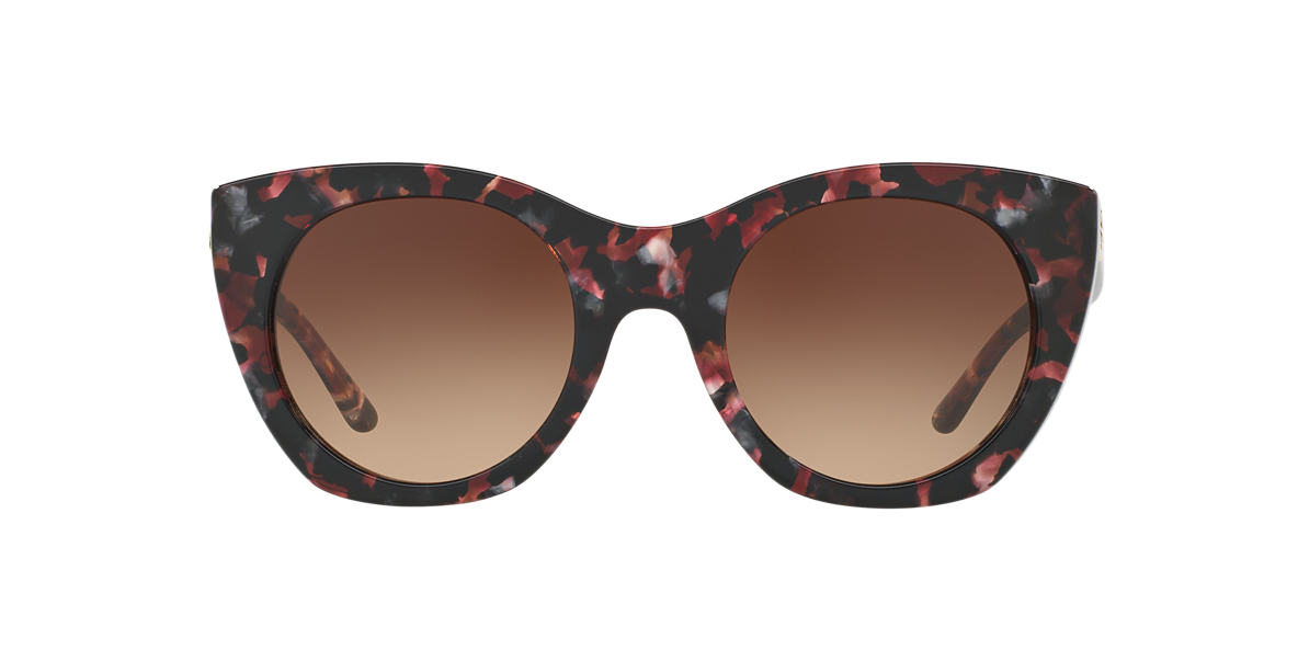 TORY BURCH Multicolor TY7097 52 Brown lenses 52mm