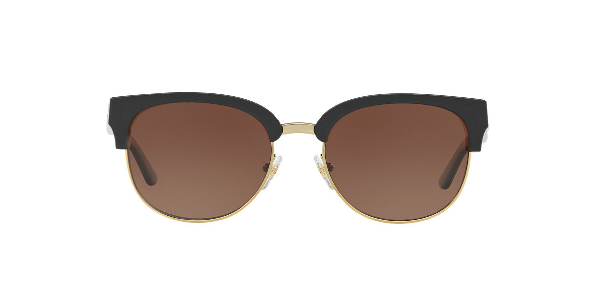 TORY BURCH Black TY9047 52 Brown polarized lenses 52mm