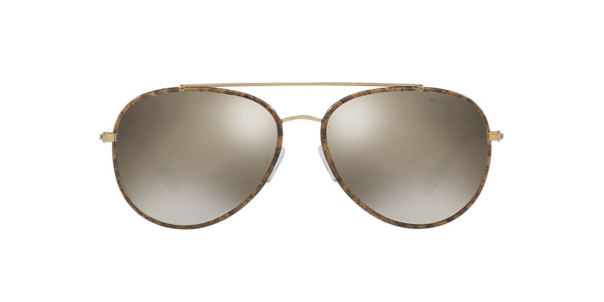 MICHAEL KORS Gold MK1019 59 IDA Bronze lenses 59mm