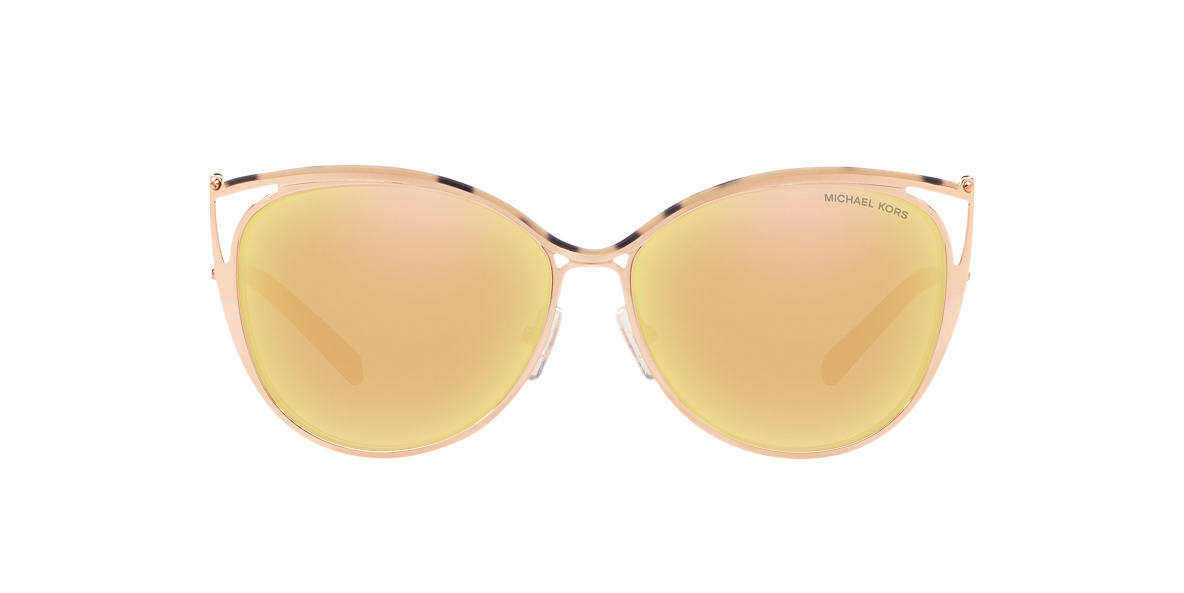 MICHAEL KORS Pink MK1020 56 INA Gold lenses 56mm