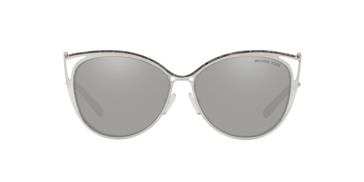 MICHAEL KORS Grey MK1020 56 INA Silver lenses 56mm