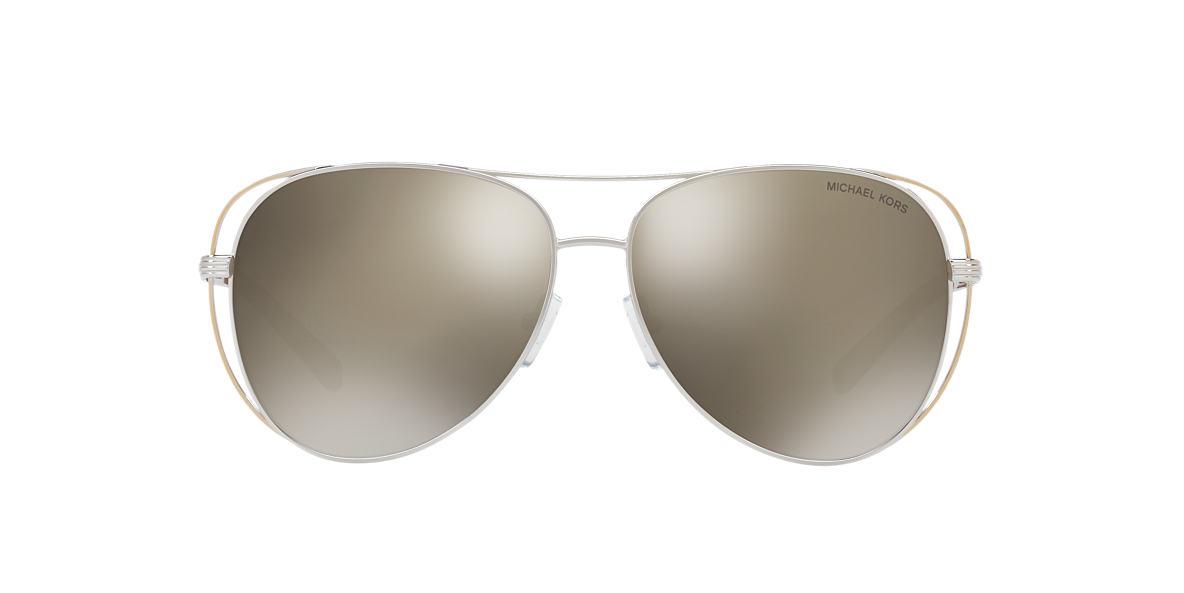 MICHAEL KORS Silver MK1024 58 LAI Bronze lenses 58mm