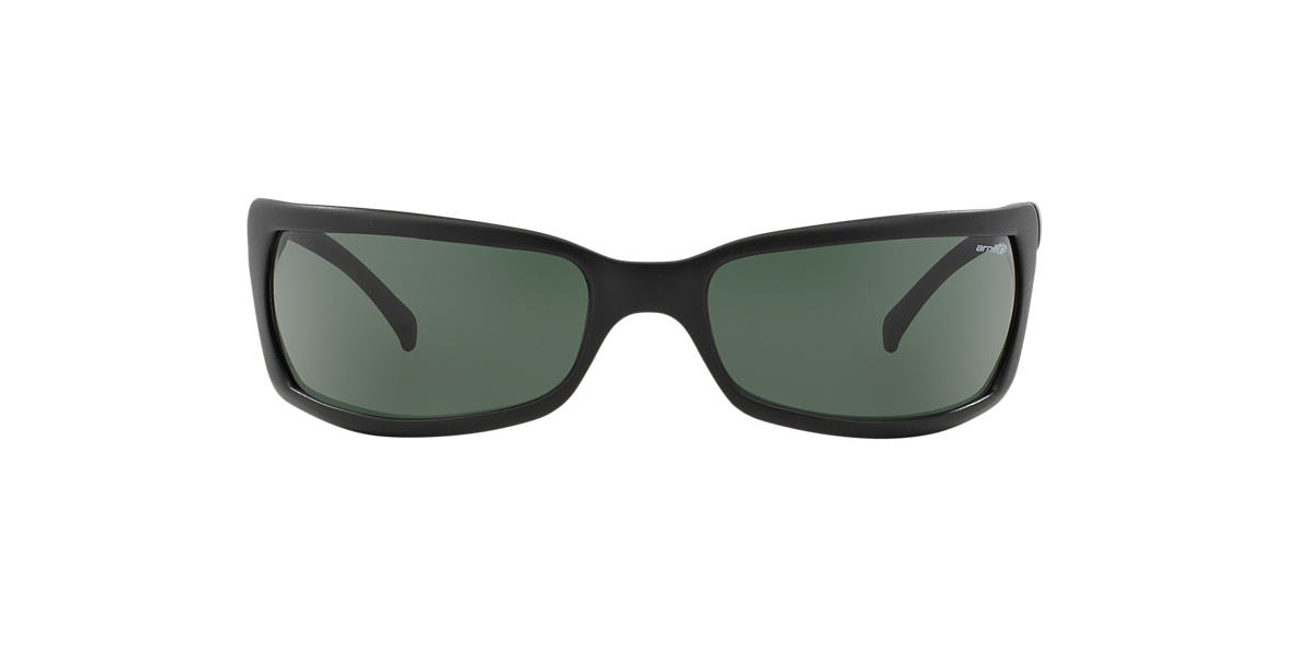 ARNETTE Black Matte AN4007 SLIDE Green lenses 66mm