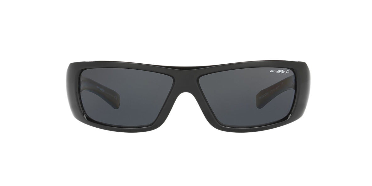 ARNETTE Black AN4113 Grey lenses 63mm
