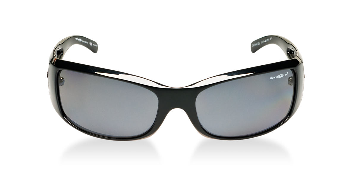 ARNETTE Black AN4121 DARKNESS Grey polarized lenses 63mm