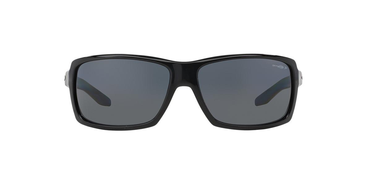ARNETTE Black AN4172 CHOP SHOP Grey polarized lenses 67mm