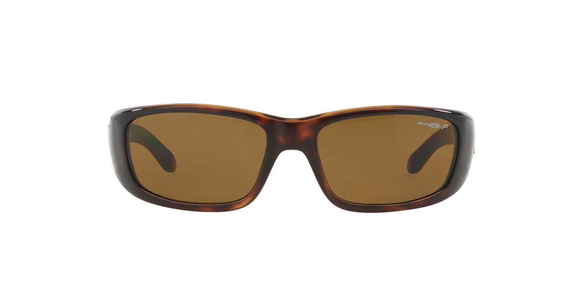 ARNETTE Tortoise AN4178 QUICK DRAW Brown polarized lenses 59mm