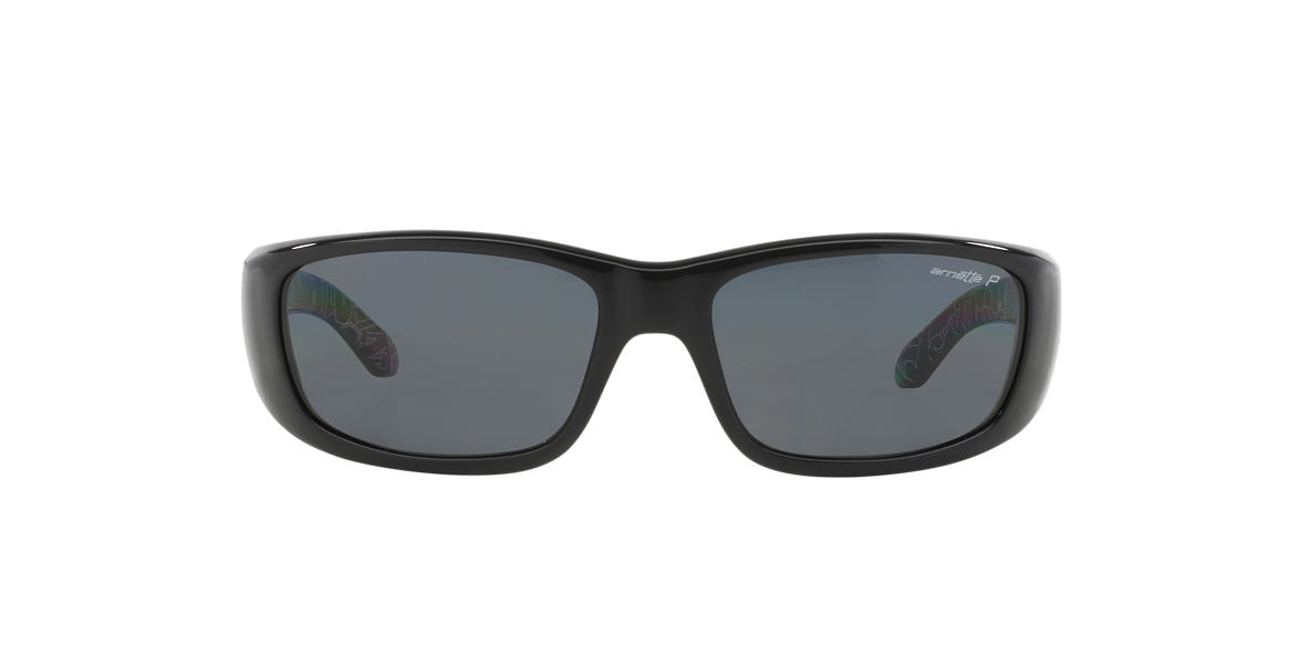 ARNETTE Black AN4178 QUICK DRAW Grey polarized lenses 59mm
