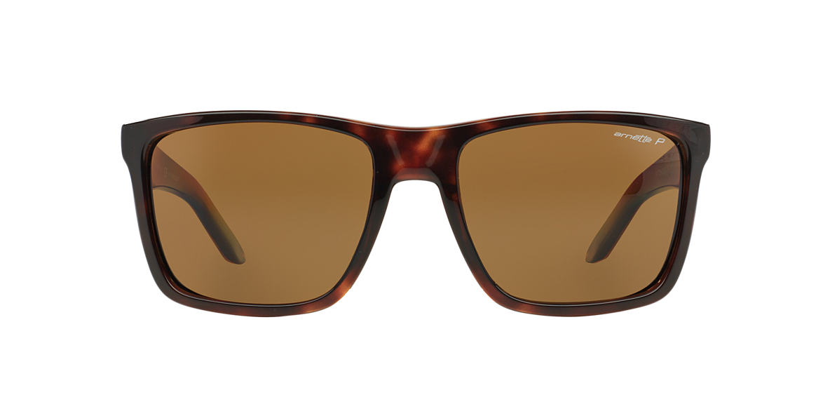 ARNETTE Tortoise AN4177 Brown polarised lenses 59mm