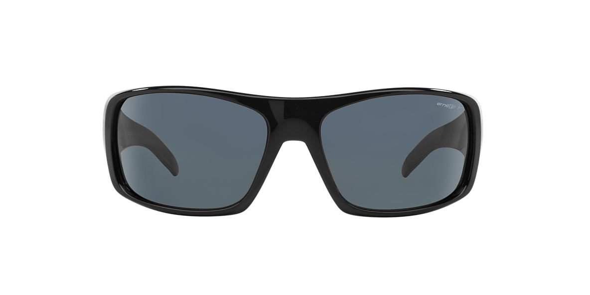 ARNETTE Black AN4179 LA PISTOLA Grey polarized lenses 66mm