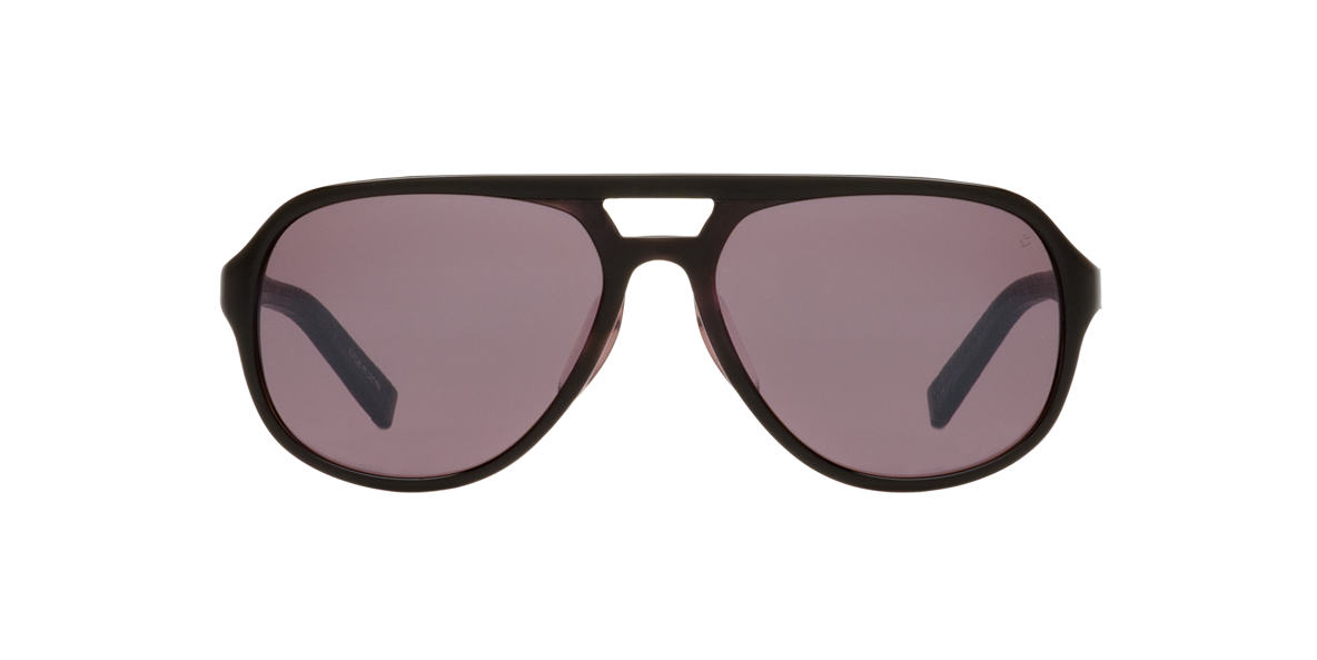 JOHN VARVATOS Black JV769 Grey lenses 57mm