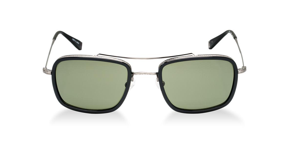 JOHN VARVATOS Black JV789 Green lenses 58mm