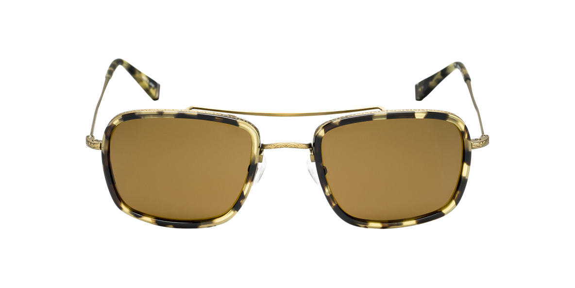 JOHN VARVATOS Yellow JV789 Brown lenses 58mm