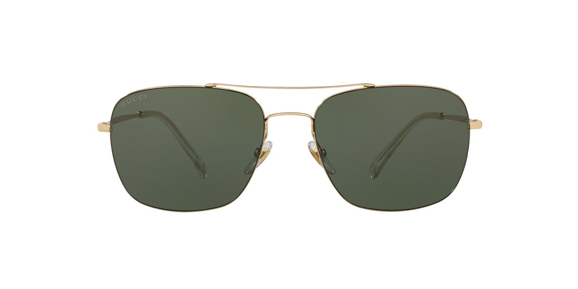 GUCCI Gold GG 2262/S 58 Green lenses 58mm