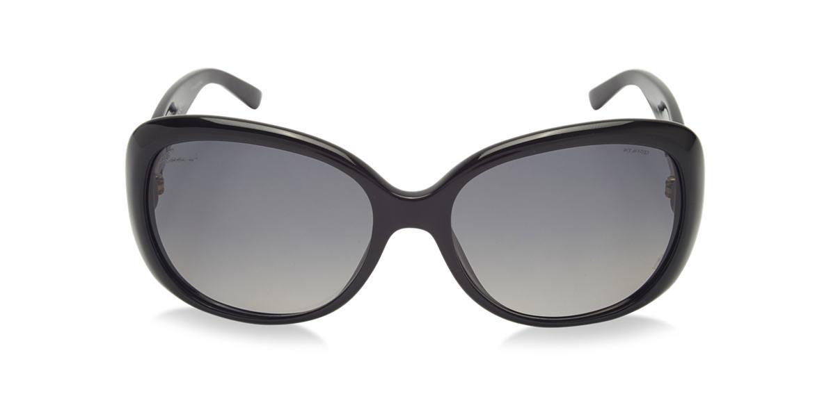 GUCCI Black GC3644/S Grey polarised lenses 56mm
