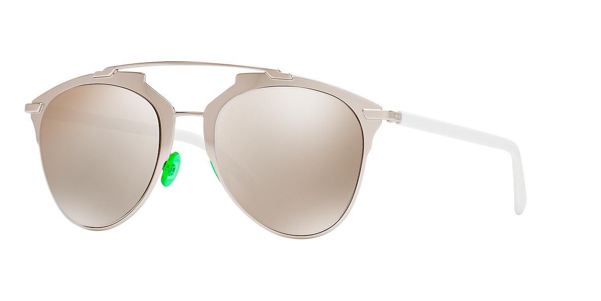 bcde9d085fd78 Dior Reflected Sunglasses · Dior Reflected Gold 31u Ha 52 21: Dior CD  REFLECTED/S 52 Silver &
