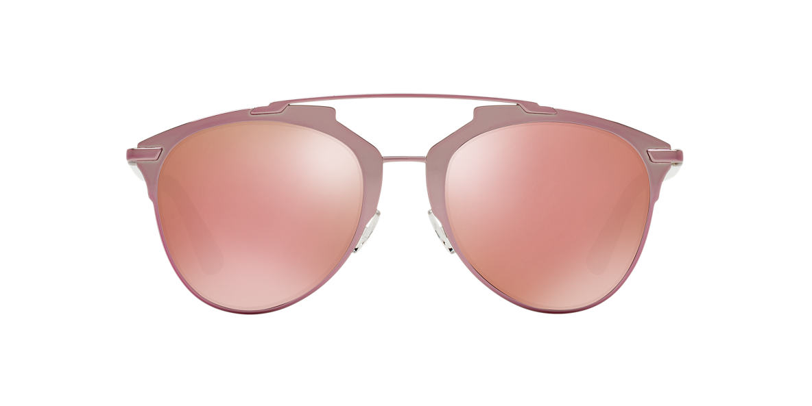 DIOR Pink CD REFLECTED/S 52 Grey lenses 52mm