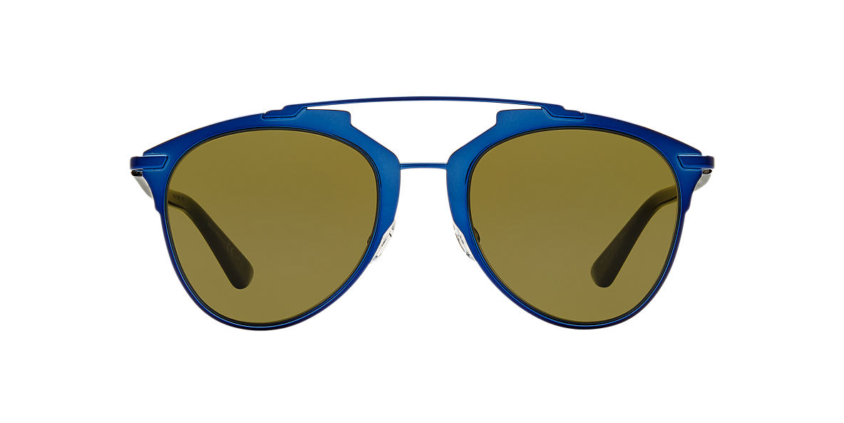 DIOR Blue CD REFLECTED/S 52 Brown lenses 52mm