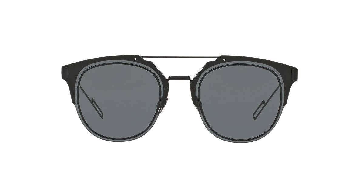 DIOR Black CD DIORCOMPOSIT1.0 62 Grey lenses 62mm