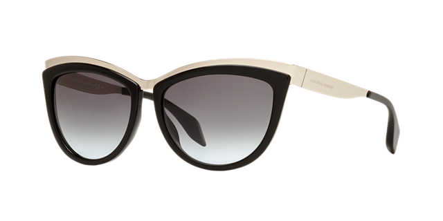 Image of Alexander Mcqueen Amq4251/s Multicolor Cat-Eye Sunglasses