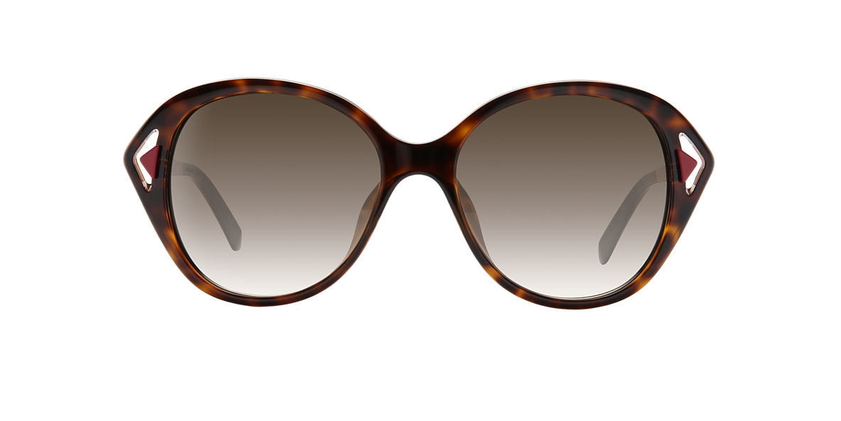 DIOR Red CD DIORCHROMATIC2 54 Brown lenses 54mm