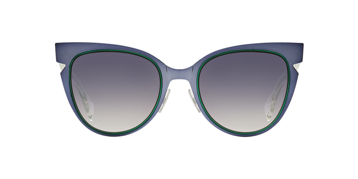 FENDI Blue FF 0133/S       52 Grey lenses 52mm