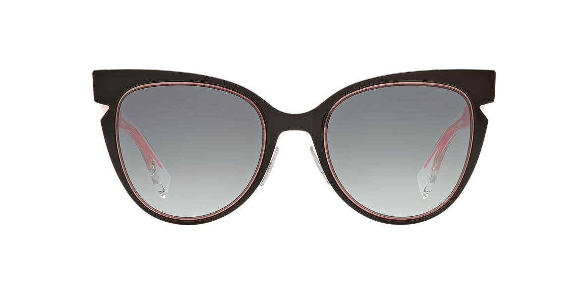 FENDI Black FF 0133/S       52 Grey lenses 52mm