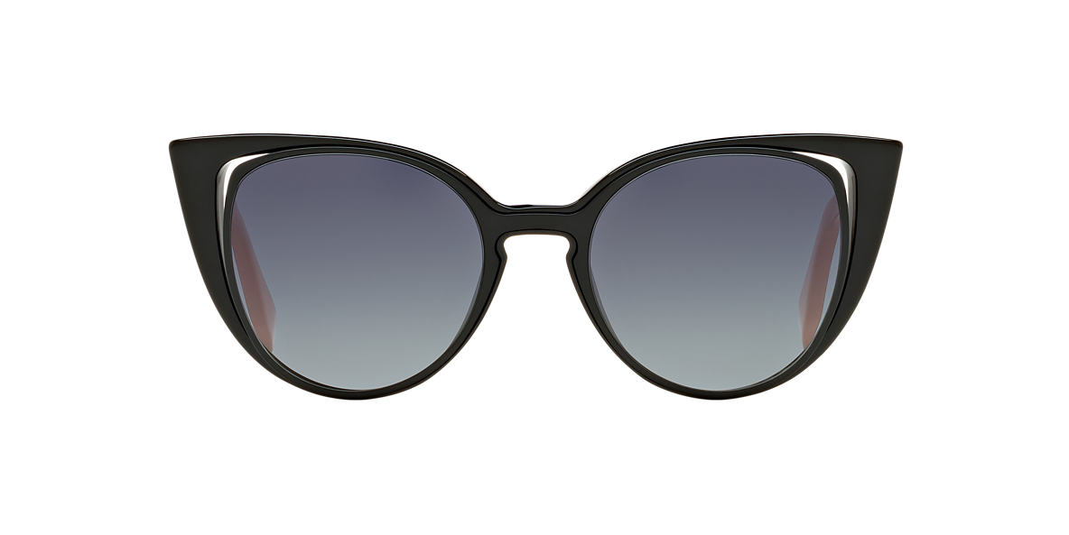 FENDI Black FF 0136/S 51 Grey lenses 51mm