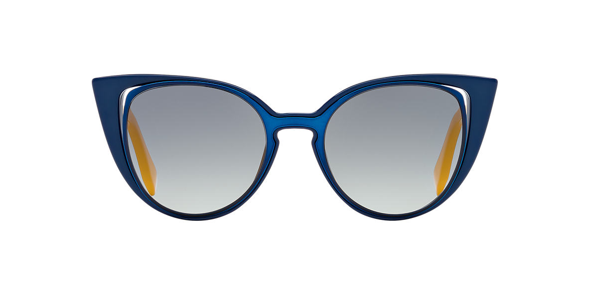 FENDI Blue FF 0136/S 51 Grey lenses 51mm