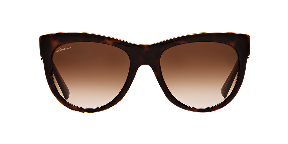 GUCCI Brown GG3739s Brown lenses 55mm