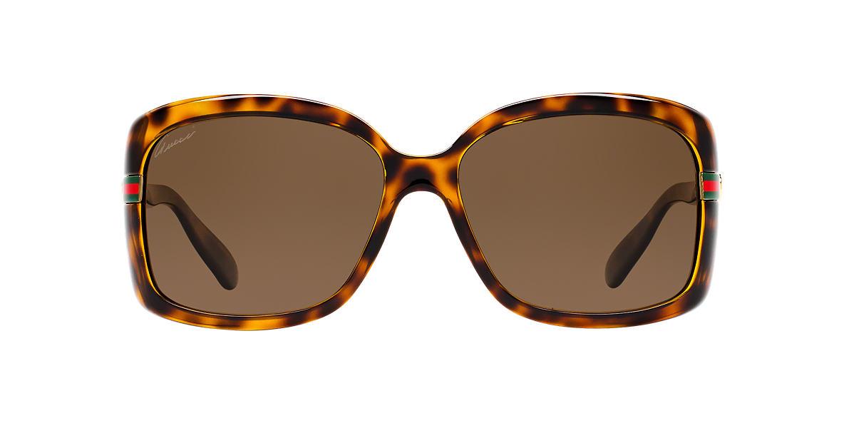 GUCCI Tortoise GG3188/S 58 Bronze polarized lenses 58mm