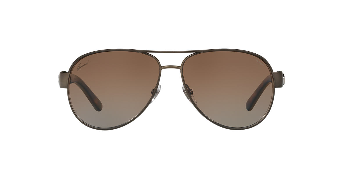 GUCCI Brown GG4282/S 58 Brown polarized lenses 58mm