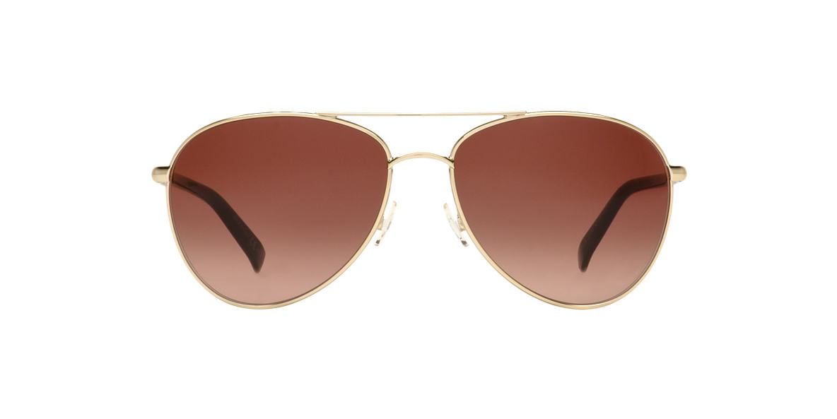 DIOR Gold PICCADILLY 2 Brown lenses 59mm