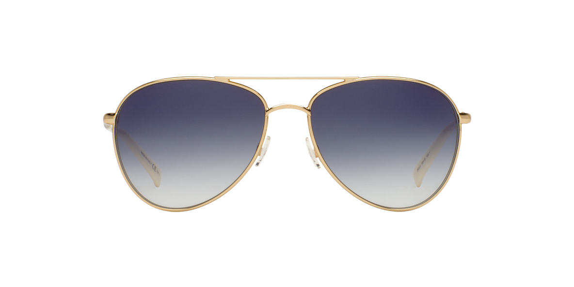 DIOR Gold PICCADILLY 2 Grey lenses 59mm